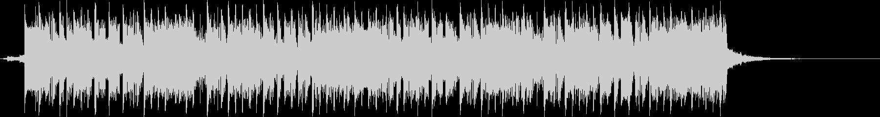 8bit感のあるロックポップの曲の未再生の波形