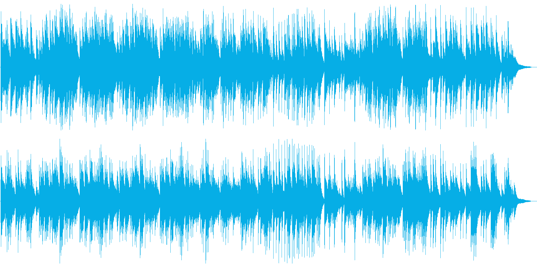 美しくも切ないピアノバラードの再生済みの波形