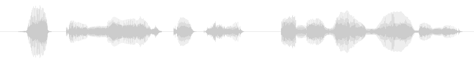 I have one more request (female)'s unreproduced waveform