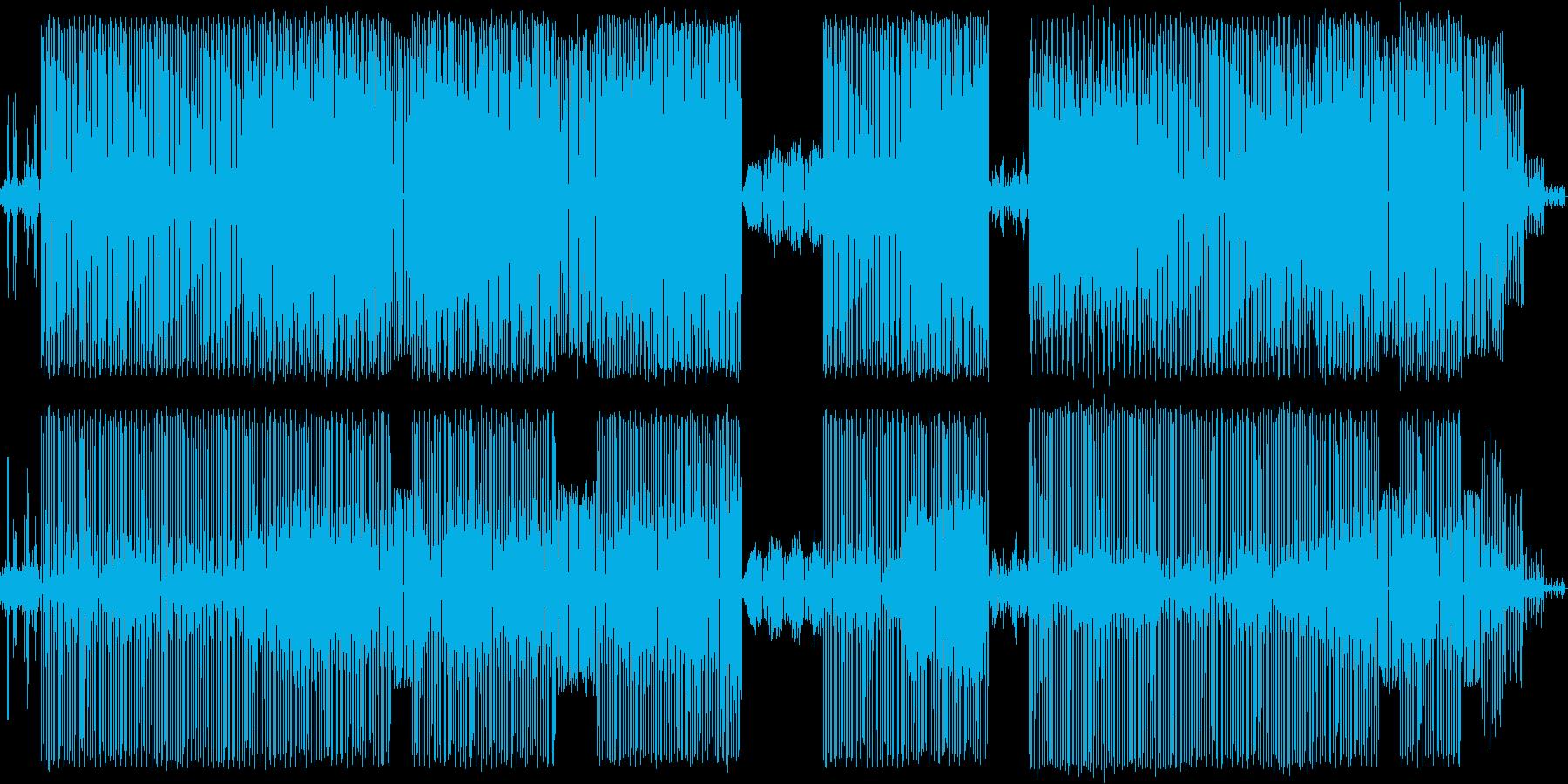 風変わりな催眠ハウスダンスビート。の再生済みの波形