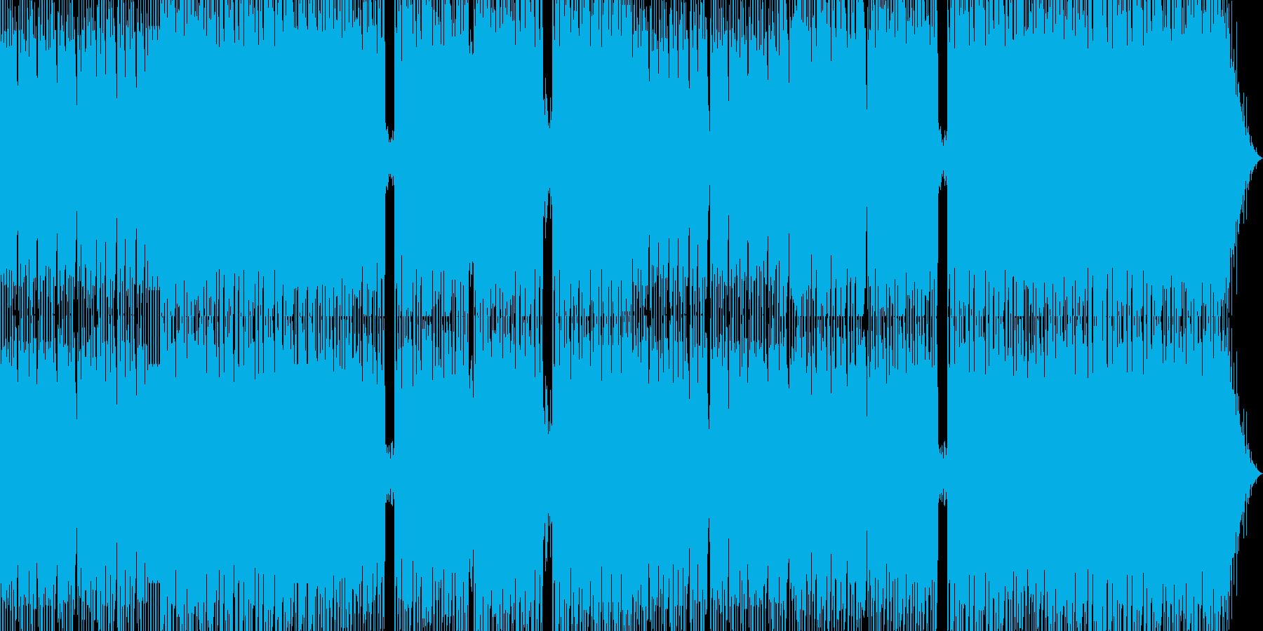 近未来疾走テクノ3の再生済みの波形