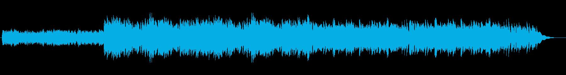 繊細で可憐なオルゴール風サウンドの再生済みの波形