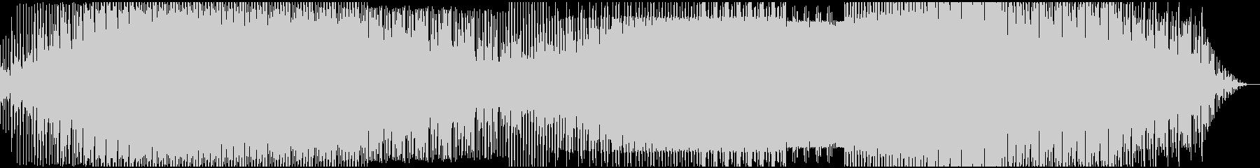 低音ベースが特徴的なアンビエントテクノの未再生の波形