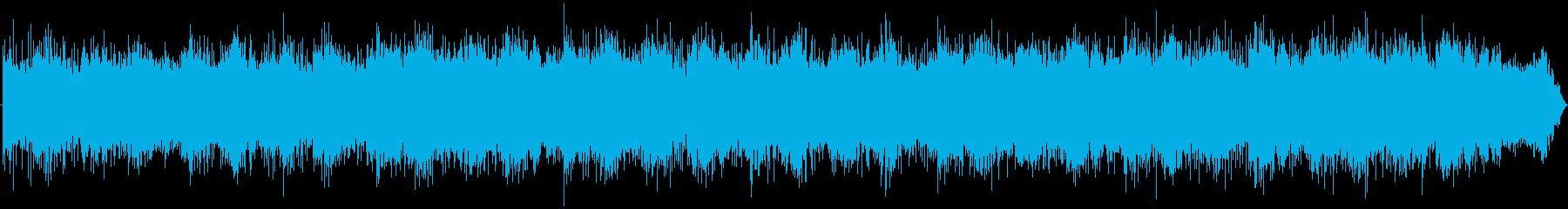 ブレードランナー風な近未来の神秘的シーンの再生済みの波形