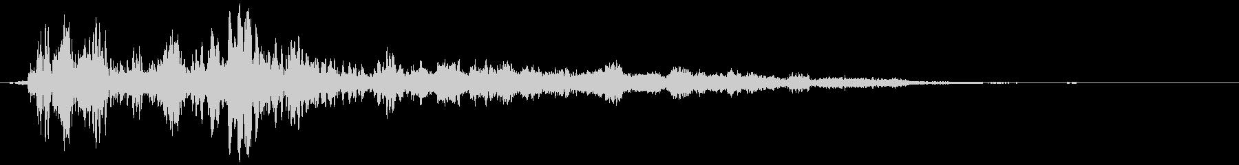 【ホラー】SFX_40 ギーッッッの未再生の波形