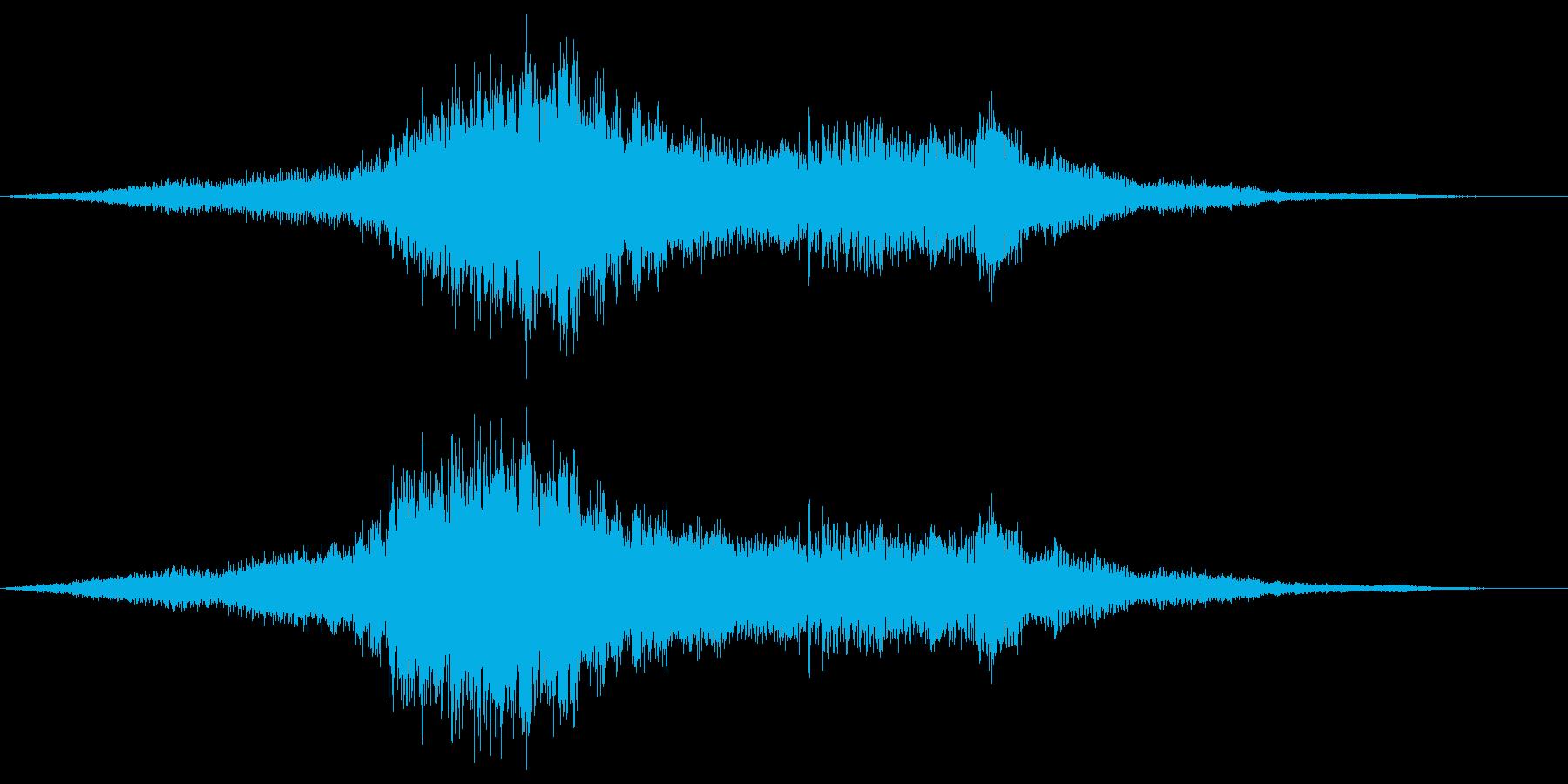 ゴーカートの運転-スキッドの再生済みの波形