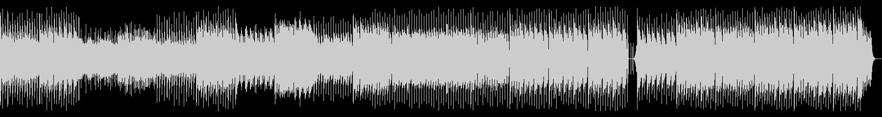 おおらかで優しいイメージのテクノインストの未再生の波形
