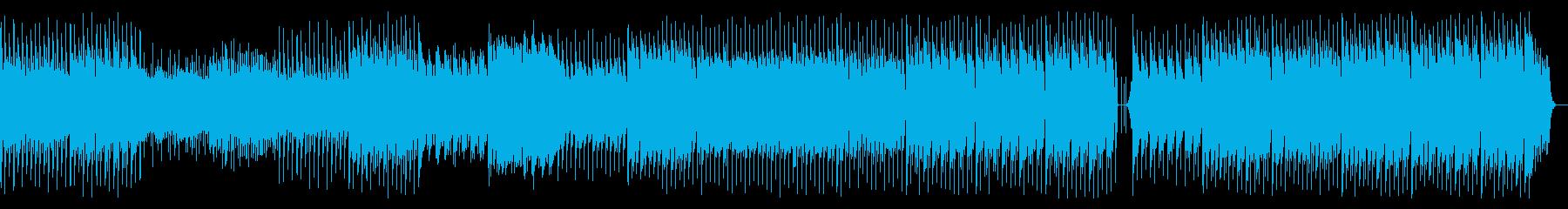 おおらかで優しいイメージのテクノインストの再生済みの波形
