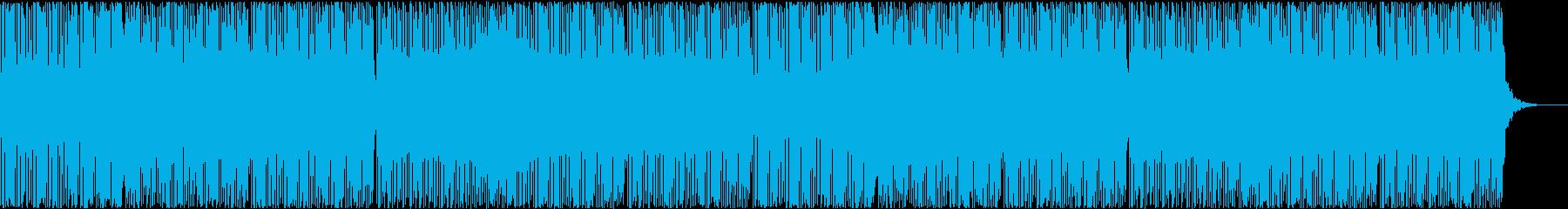 機械、疾走感、走る、4つ打ち、シンセの再生済みの波形