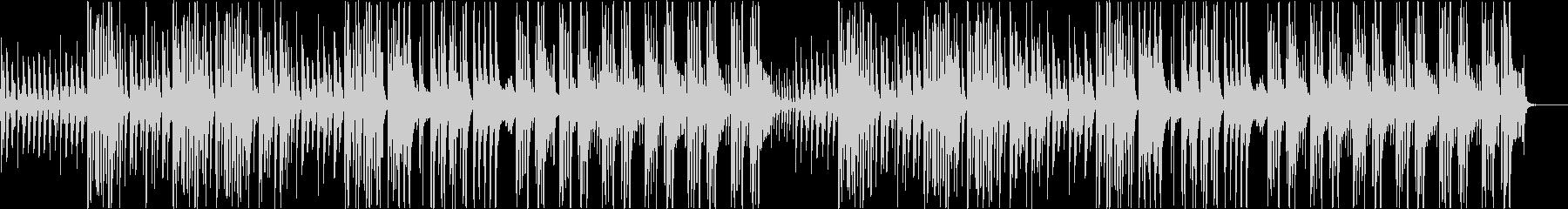ふざけた調子のフルートBGMの未再生の波形