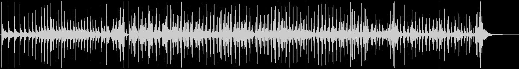 津軽三味線ソロ-H、激しい、疾走、声入りの未再生の波形