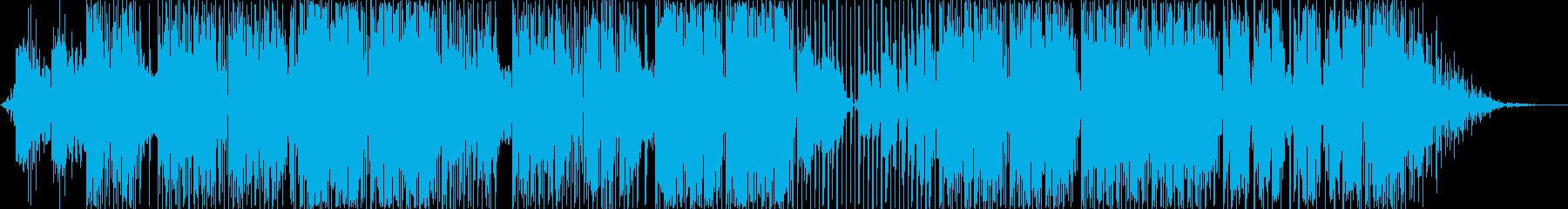 女性ボーカルとヒップホップグルーヴ...の再生済みの波形