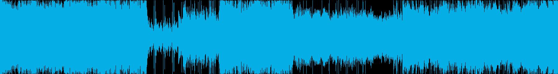 壮大なボスバトル、オーケストラ/ループ可の再生済みの波形