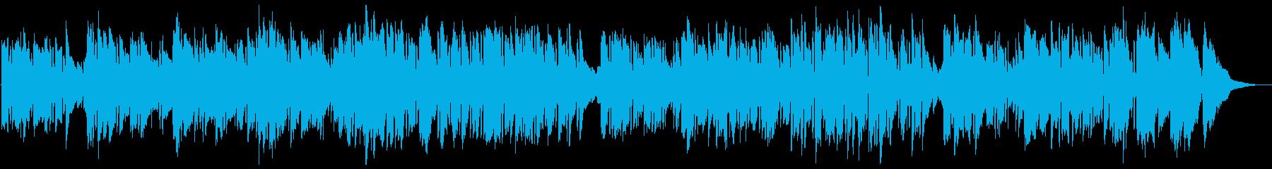 Hawaii Aloha(ハワイアン)の再生済みの波形