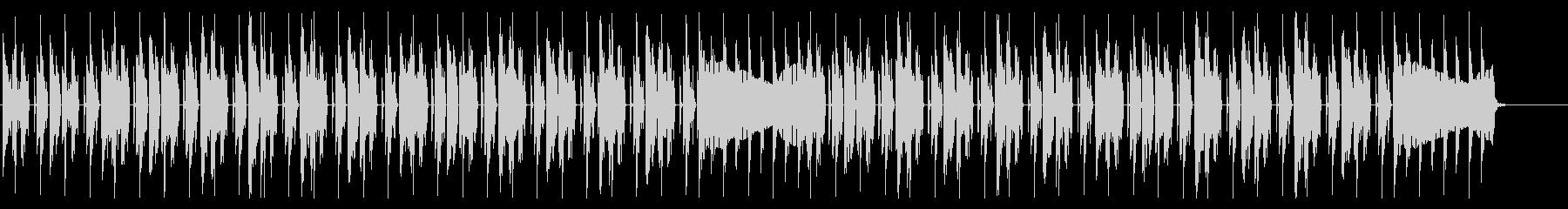 怪しげなダンジョンを意識したBGMの未再生の波形