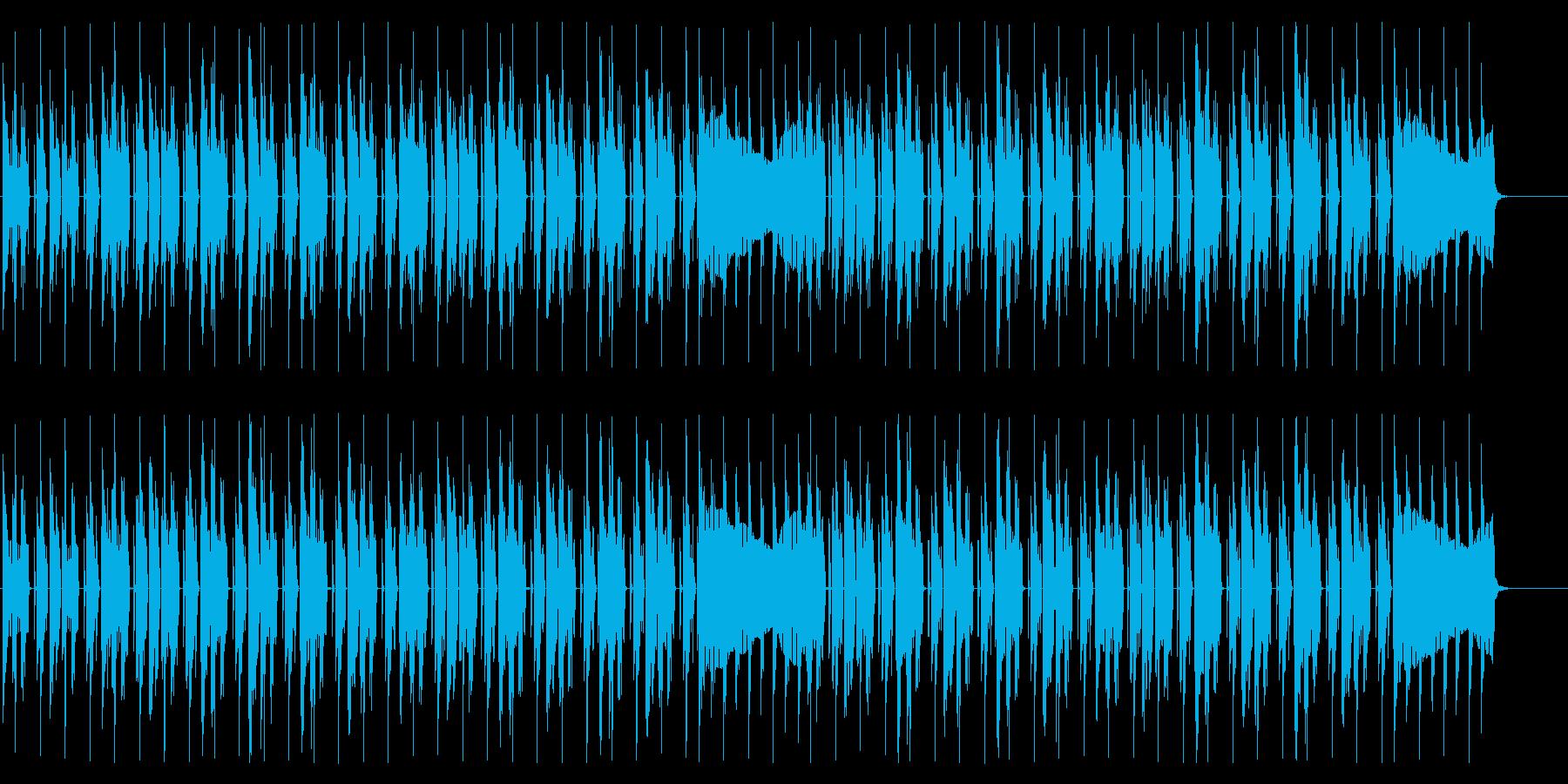 怪しげなダンジョンを意識したBGMの再生済みの波形