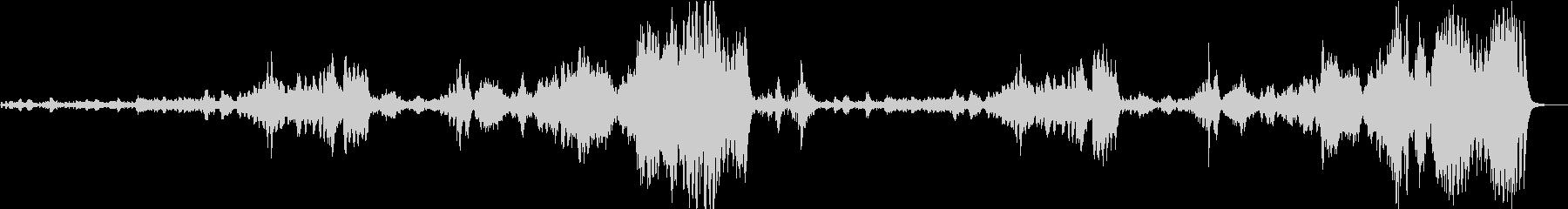 チャイコフスキー くるみ割り人形 序曲の未再生の波形