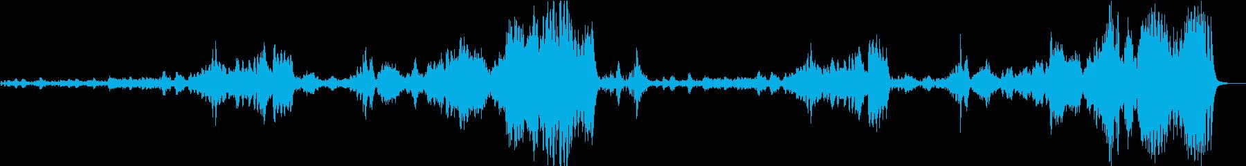 チャイコフスキー くるみ割り人形 序曲の再生済みの波形