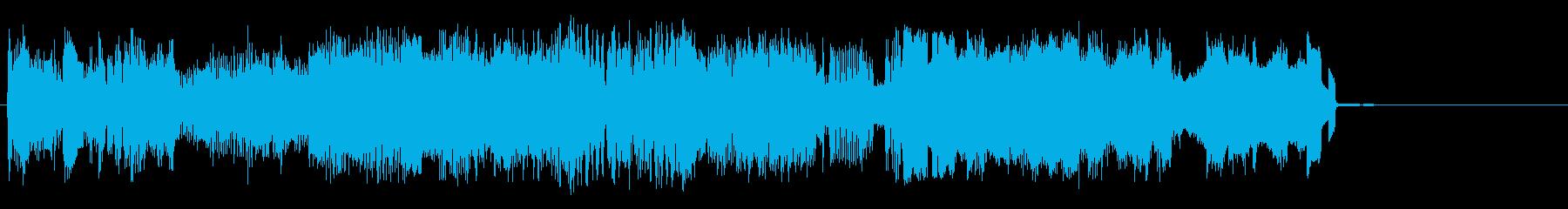 妨害送信の再生済みの波形