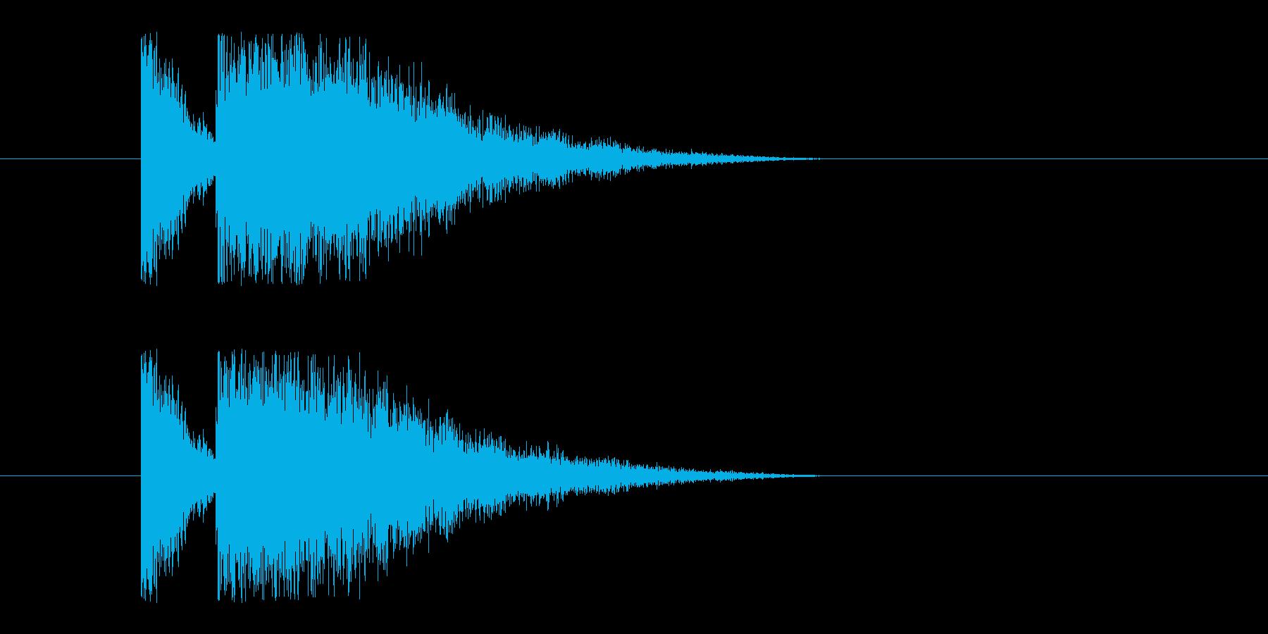 ビームライフル2の再生済みの波形