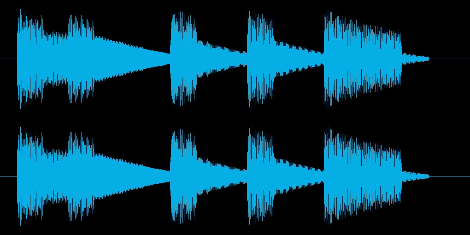 NES 汎用 A03-31(ゲームオーバの再生済みの波形