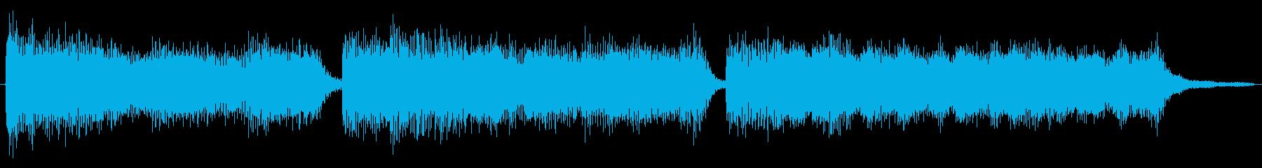 ゲームクリアしたような音の再生済みの波形