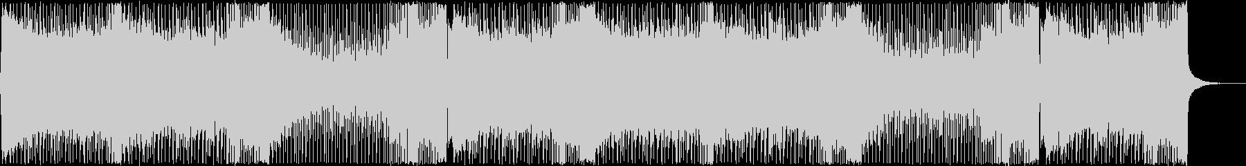シューティングっぽいピアノが綺麗なEDMの未再生の波形
