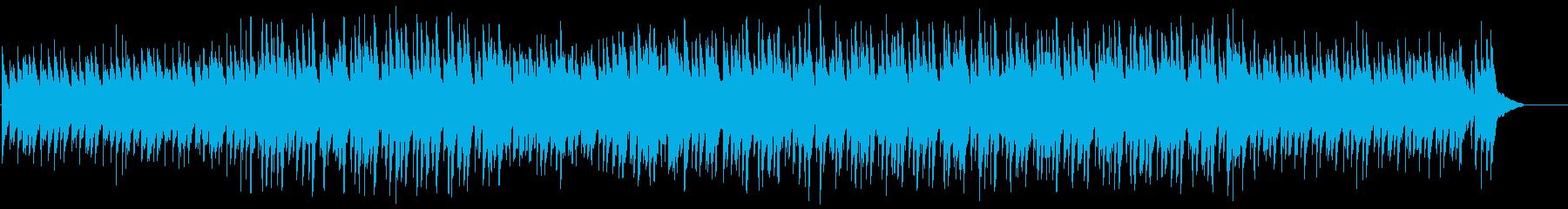 Impressive and loving piano drama accompaniment's reproduced waveform