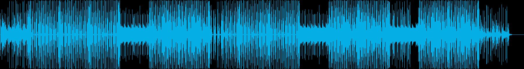 レゲトン、ラテン、ダンスホールトラック♪の再生済みの波形