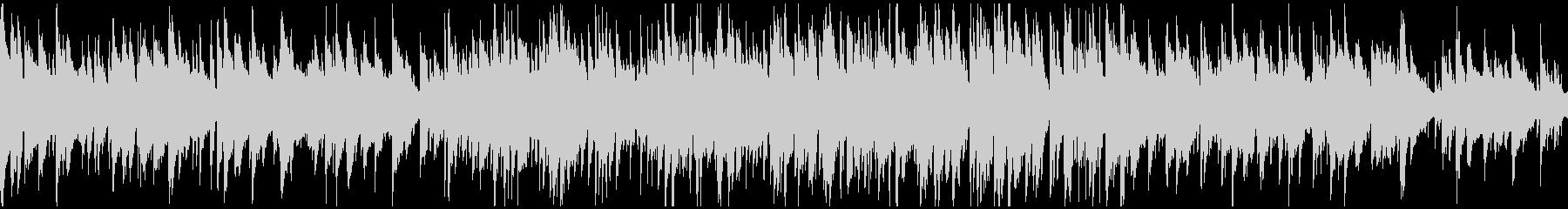 クールな北欧系ジャズ、サックス※ループ版の未再生の波形