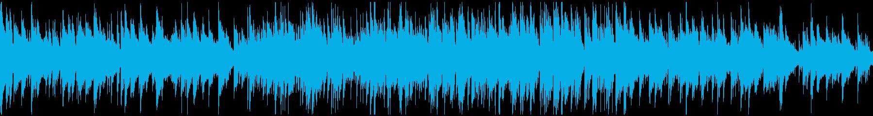 クールな北欧系ジャズ、サックス※ループ版の再生済みの波形