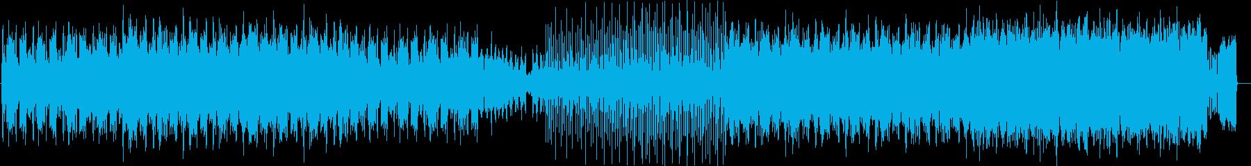 忘れられないパッドと歪んだパーカッ...の再生済みの波形
