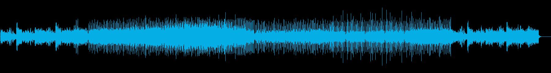 空間を浮遊するドキュメンタリーBGMの再生済みの波形