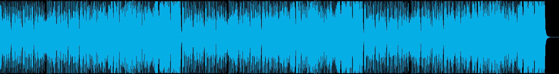 ほのぼのとして元気な曲_タイプAの再生済みの波形