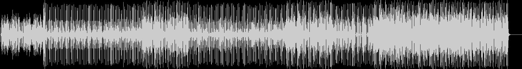ファンキーなピアノのR&Bの未再生の波形