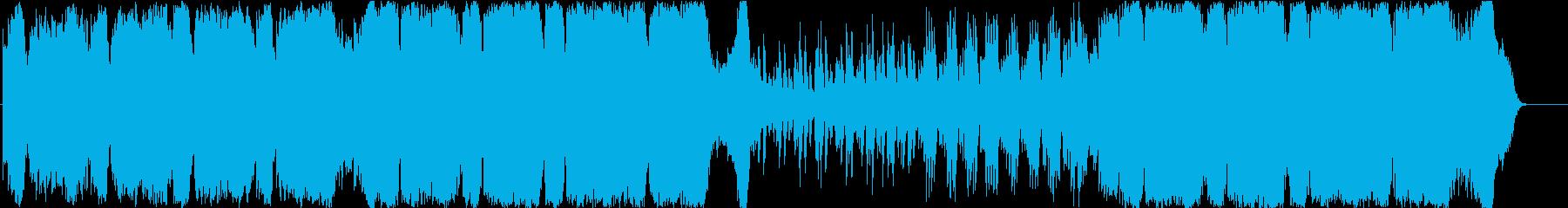 ハリウッド映画 エピック・オーケストラの再生済みの波形
