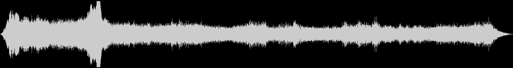 ドローン リング01の未再生の波形
