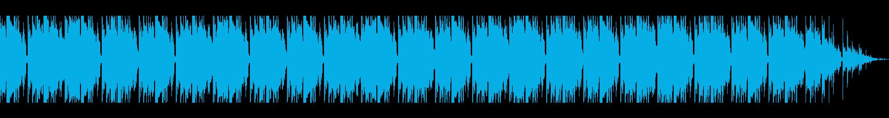 ホラー サスペンス ピアノ BGMの再生済みの波形