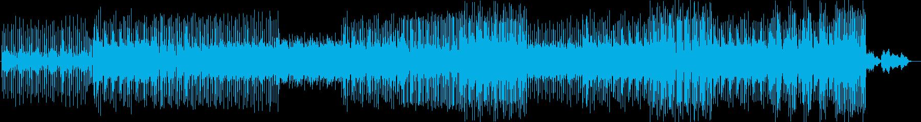 現代的キャッチーなシンセドラムなどEDMの再生済みの波形
