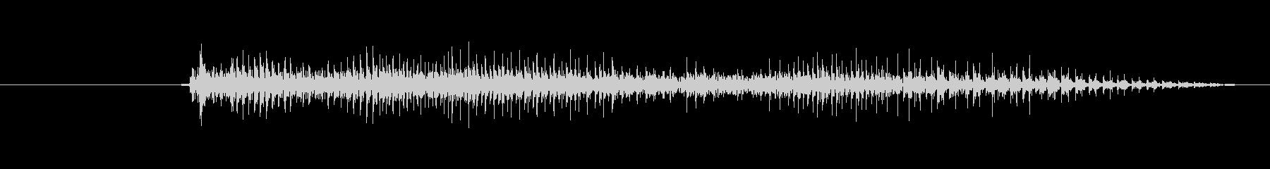 鳴き声 リトルガールスノート09の未再生の波形