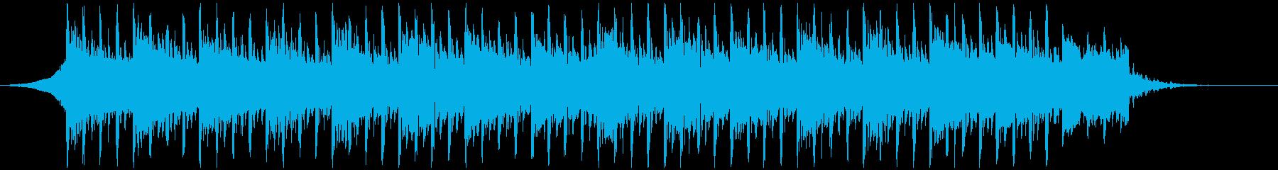 テクノロジー事業(40秒)の再生済みの波形