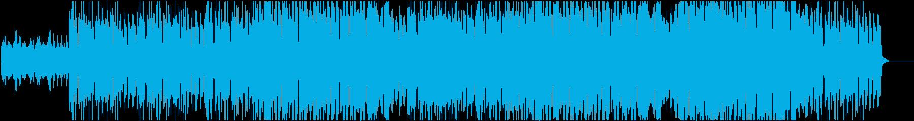 ネオソウルやR&B系の曲の再生済みの波形
