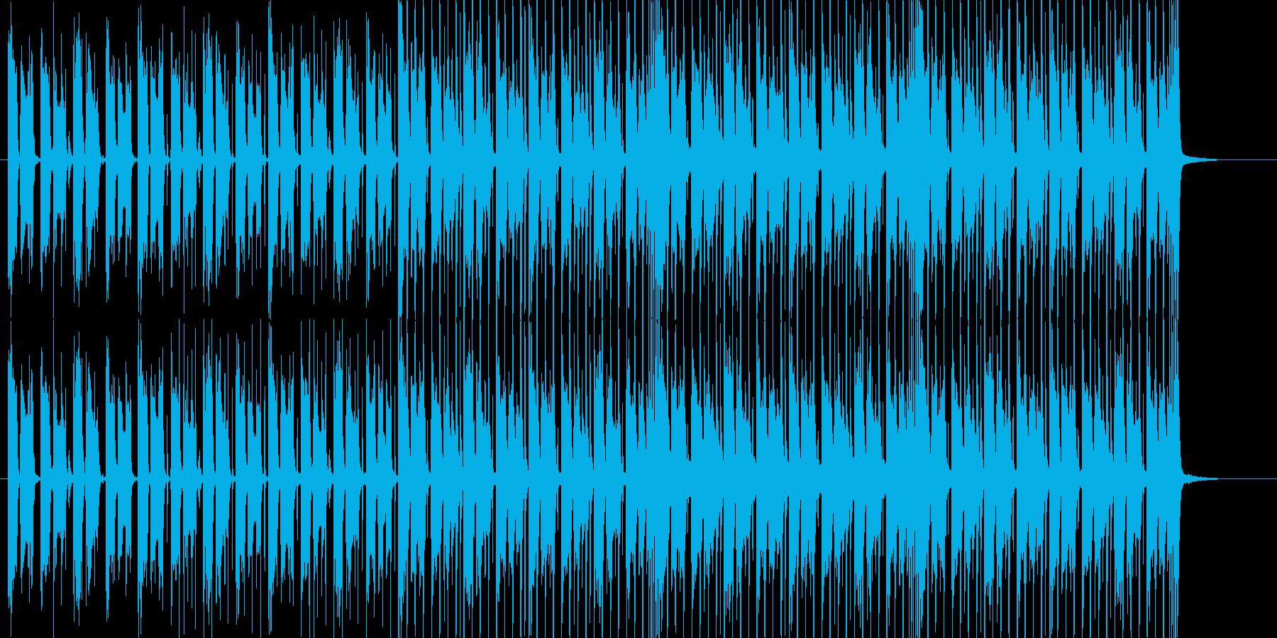 映像系に合うシックなアコースティックの再生済みの波形