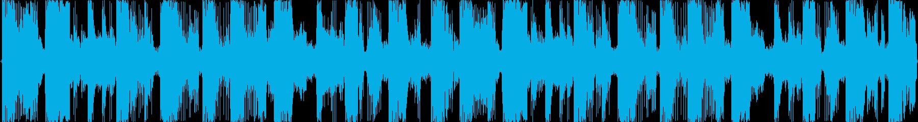 近未来 テクノジングル クールダウンの再生済みの波形