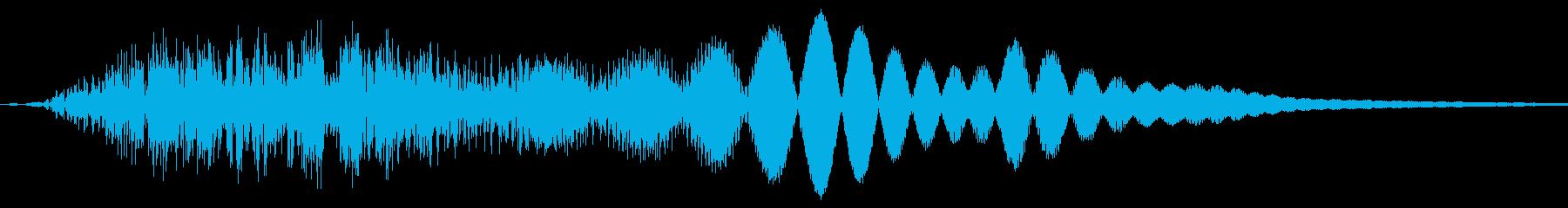 ぴょん/ジャンプ/移動の再生済みの波形