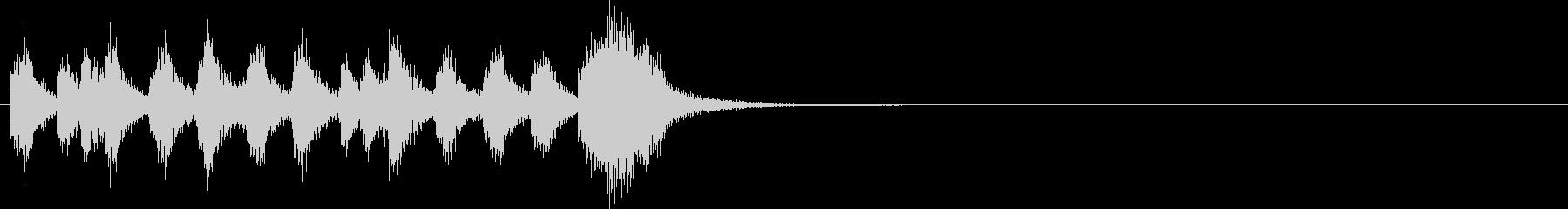 ファンファーレ~ビゼーのカルメン風の未再生の波形