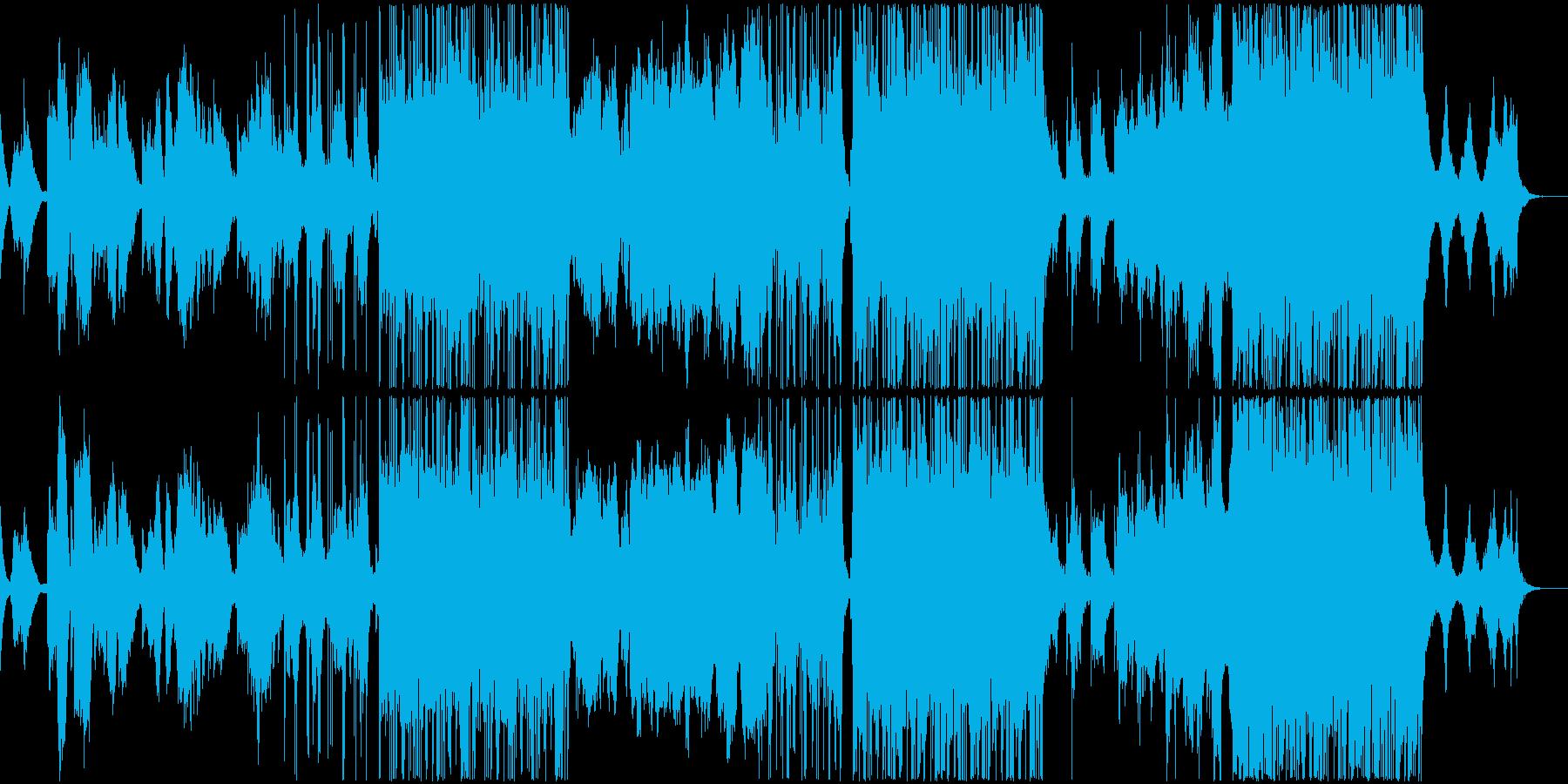 感情的で幻想的なポップバラードの再生済みの波形