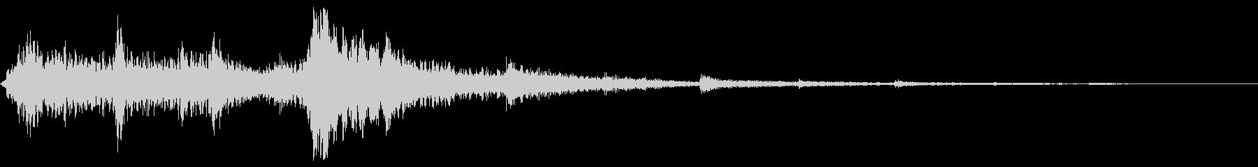 アップテンポのアコースティックギタ...の未再生の波形