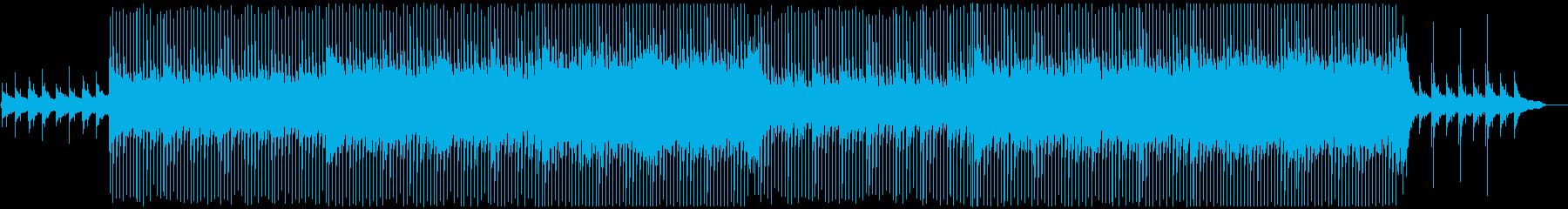 VP系14、高揚感と疾走感のあるロックAの再生済みの波形