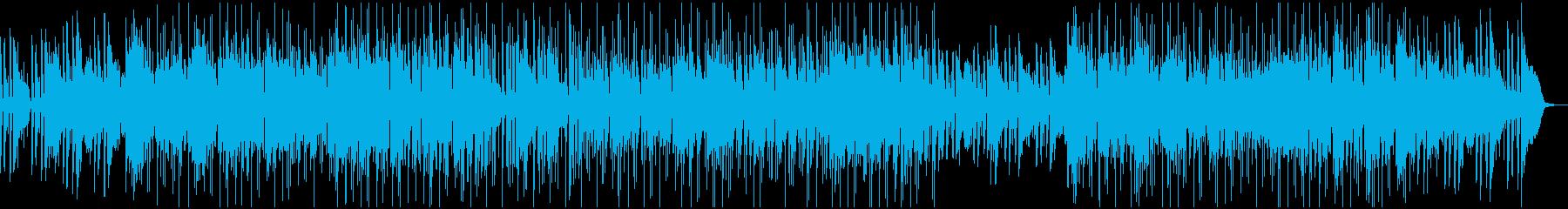 ピアノとフルートのソロをフィーチャ...の再生済みの波形